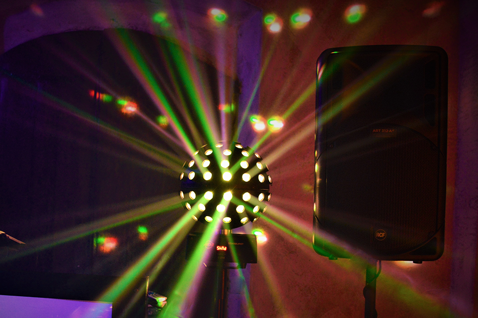 rental of dance floor lights