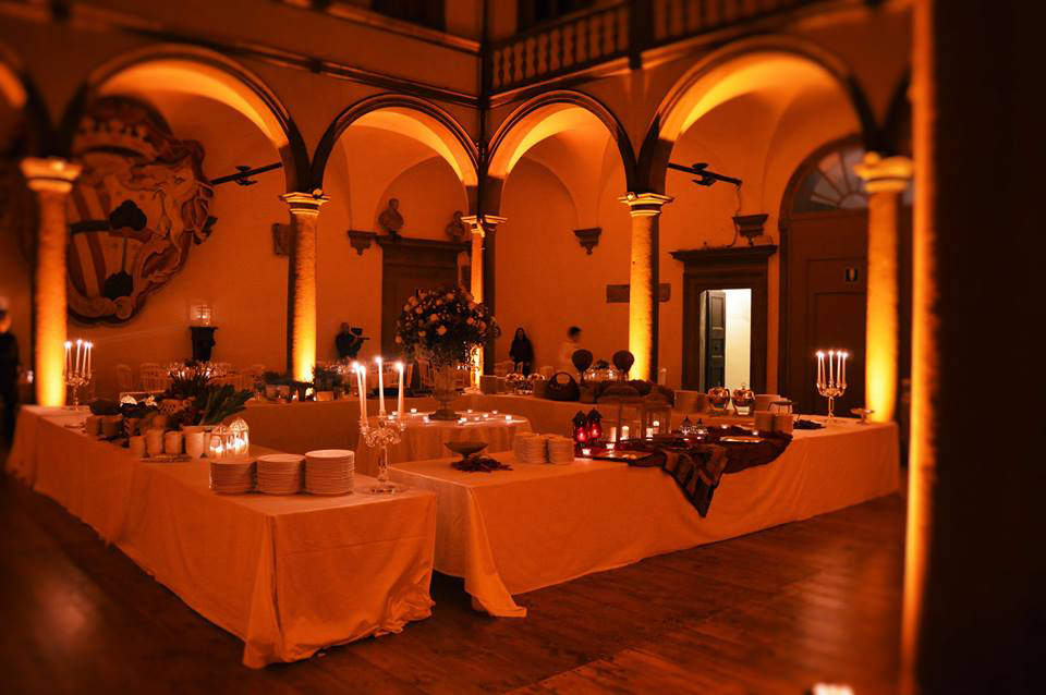 Tuscan lighting set-ups