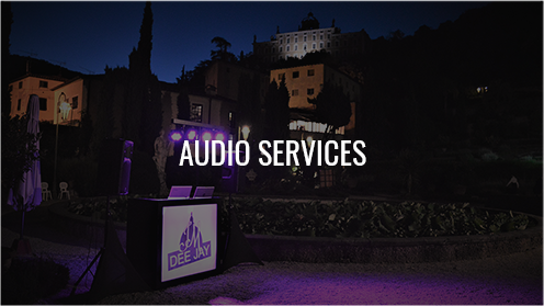 Audio Services tuscany florence