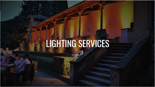 Lighting services tuscany florence